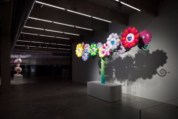 "Takashi_Murakami_View of the exhibition ""Under the radiation falls"" curated by Ekaterina Inozemtseva  at GARAGE MUSEUM OF CONTEMPORARY ART  Moscow (Russia), 2017_14492"