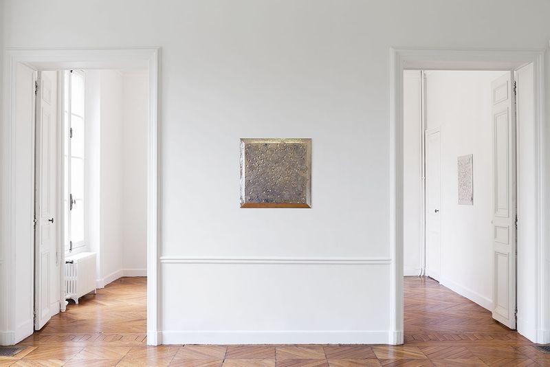 """Lionel_Esteve_View of the exhibition """"Lionel Estève à Sèvres """" at MANUFACTURE DE SEVRES SEVRES (France), 2017_14524"""