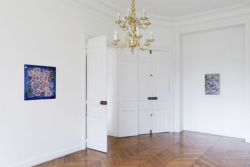 """Lionel_Esteve_View of the exhibition """"Lionel Estève à Sèvres """" at MANUFACTURE DE SEVRES SEVRES (France), 2017_14526"""