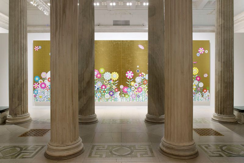 """Takashi_Murakami_View of the exhibition """"Takashi Murakami: The Deep End of the Universe"""" curated by Cathleen Chafee  at Albright-Knox Museum  Buffalo, 2017_14608"""
