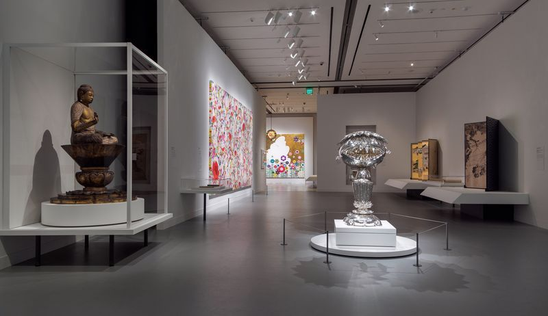 """Takashi_Murakami_View of the exhibition """"Takashi Murakami: Lineage of Eccentrics  A Collaboration with Nobuo Tsuji and the Museum of Fine Arts, Boston"""" at MUSEUM OF FINE ARTS BOSTON BOSTON (USA), 2017_14636"""