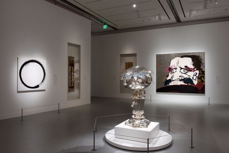 """Takashi_Murakami_View of the exhibition """"Takashi Murakami: Lineage of Eccentrics  A Collaboration with Nobuo Tsuji and the Museum of Fine Arts, Boston"""" at MUSEUM OF FINE ARTS BOSTON BOSTON (USA), 2017_14638"""