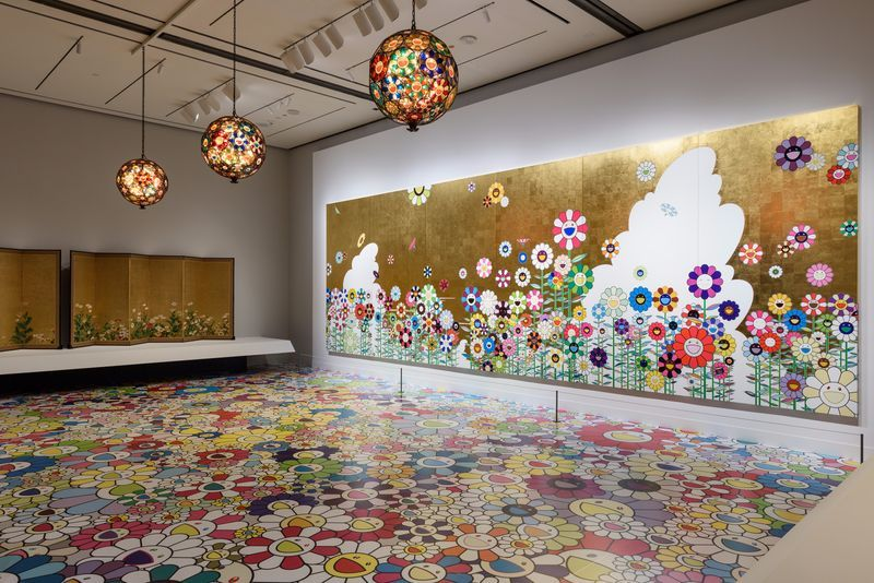 """Takashi_Murakami_View of the exhibition """"Takashi Murakami: Lineage of Eccentrics  A Collaboration with Nobuo Tsuji and the Museum of Fine Arts, Boston"""" at MUSEUM OF FINE ARTS BOSTON BOSTON (USA), 2017_14639"""