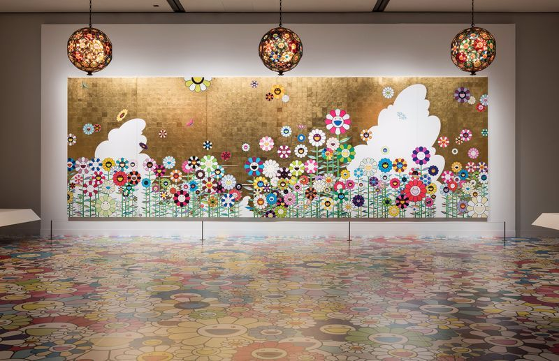 """Takashi_Murakami_View of the exhibition """"Takashi Murakami: Lineage of Eccentrics  A Collaboration with Nobuo Tsuji and the Museum of Fine Arts, Boston"""" at MUSEUM OF FINE ARTS BOSTON BOSTON (USA), 2017_14640"""