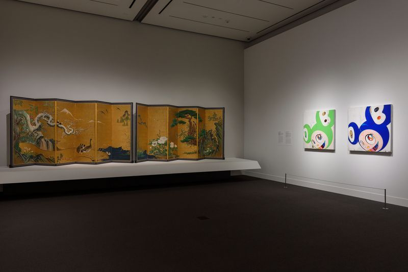 """Takashi_Murakami_View of the exhibition """"Takashi Murakami: Lineage of Eccentrics  A Collaboration with Nobuo Tsuji and the Museum of Fine Arts, Boston"""" at MUSEUM OF FINE ARTS BOSTON BOSTON (USA), 2017_14643"""