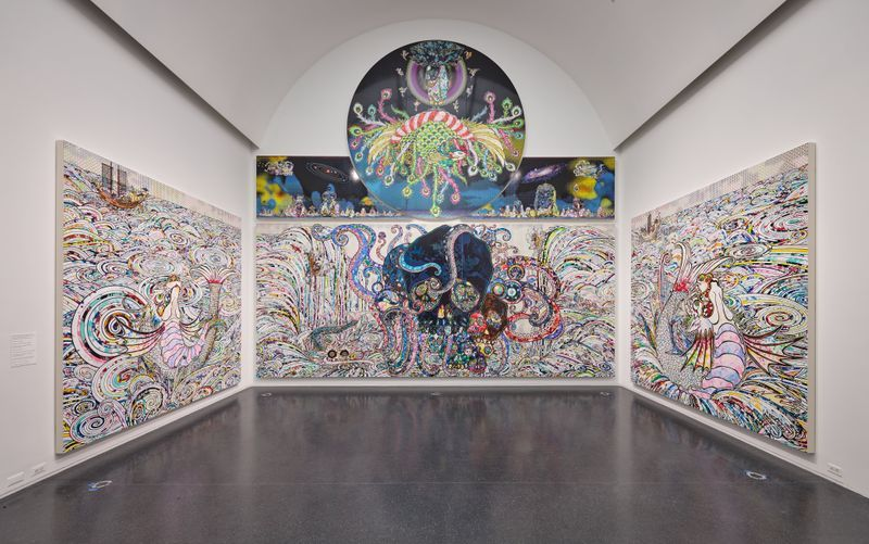 "Takashi_Murakami_""TAKASHI MURAKAMI: THE OCTOPUS EATS ITS OWN LEG"", 2017_14742"