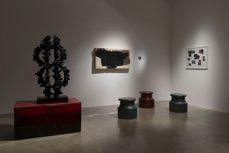 "View of the exhibition ""Sunrise / Sunset"" Perrotin Paris, 2018"