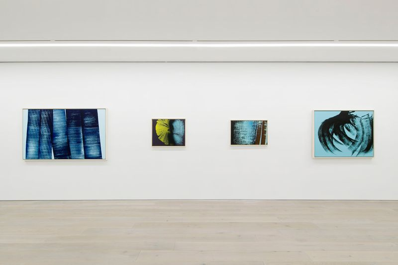 """View of the exhibition """"A Constant Storm. Works from 1922 to 1989""""curated by Matthieu Poirier at Perrotin New York (U.S.A), 2018"""