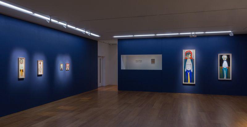 View of Izumi Kato's solo exhibition at Perrotin, Hong Kong, 2018.