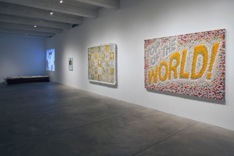 """Farhad_Moshiri_View of the exhibition """"Go West"""" curated by Jose Diaz  at The Andy Warhol Museum Pittsburgh (USA), 2017_14782"""