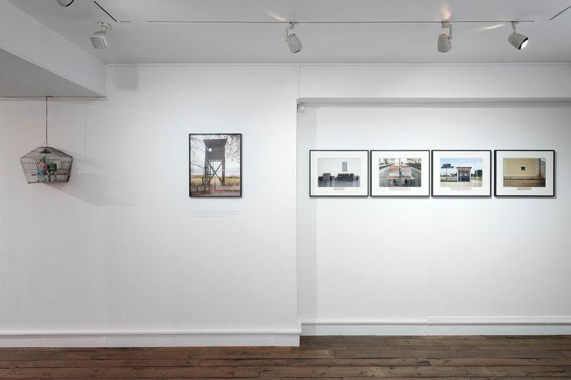 """View of the exhibition """"Beau doublé, Monsieur le marquis ! Sophie Calle et son invitée Serena Carone""""curated by Sonia Voss at Musée de la Chasse Paris (France), 2017"""