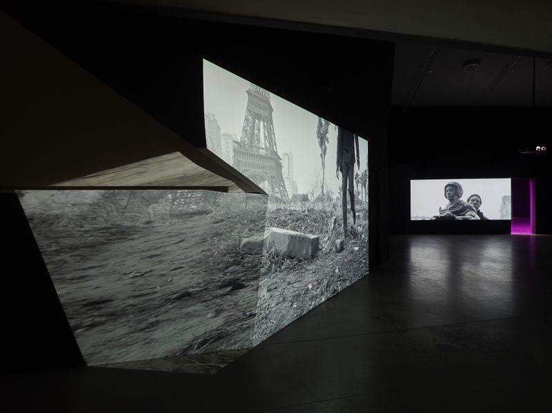 "Jesper_Just_View of the exhibition ""Jesper Just"" at EYE Filmmuseum Amsterdam (Pays-Bas), 2017_14904"