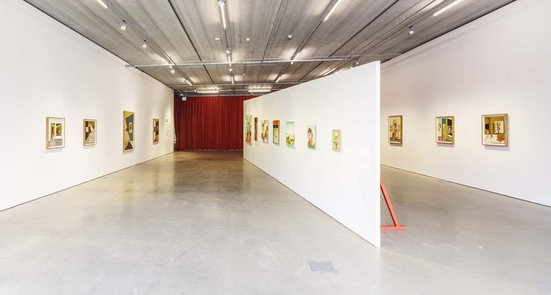 """View of the exhibition """"Drömmarna"""" at Bonniers Konsthall, Stockholm, Sweden, 2018 / Petter Cohen Photography"""