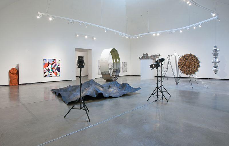 """Michael_Sailstorfer_""""Ausbruch aus der Fläche Das Origami-Prinzip in der Kunst"""" at Marta Herford  Herford (Germany), 2018_15034"""