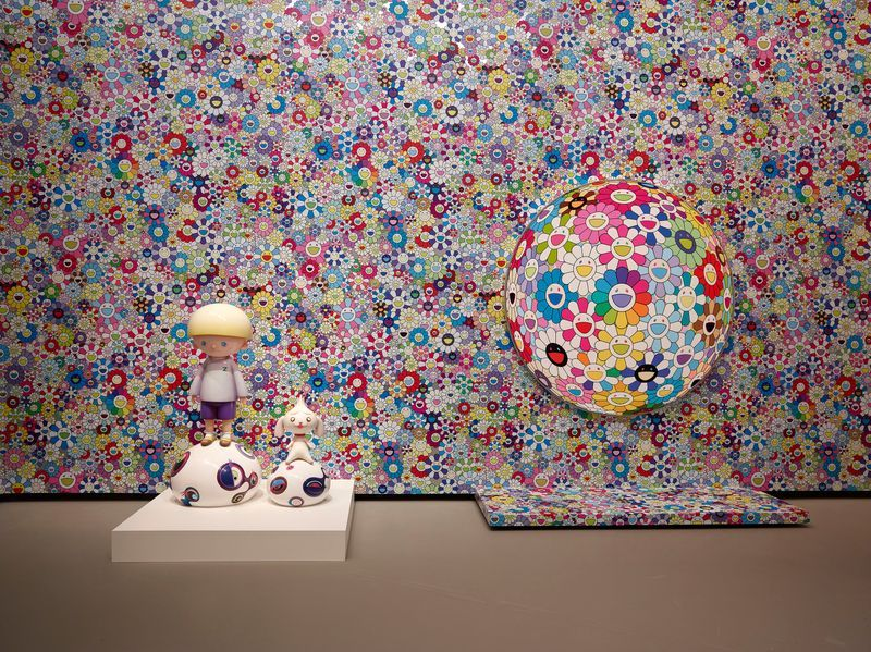 "Takashi_Murakami_""In Tune with the World"" at FONDATION LOUIS VUITTON  Paris (France), 2018_15101"