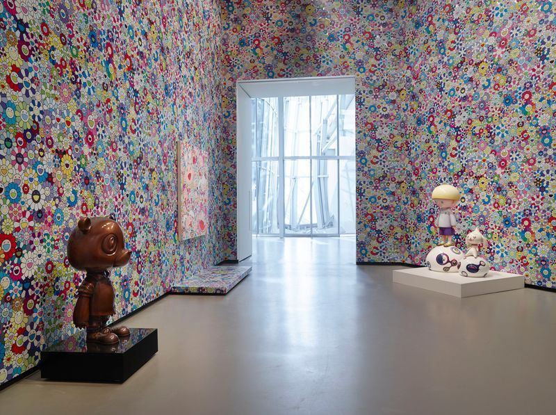 "Takashi_Murakami_""In Tune with the World"" at FONDATION LOUIS VUITTON  Paris (France), 2018_15103"