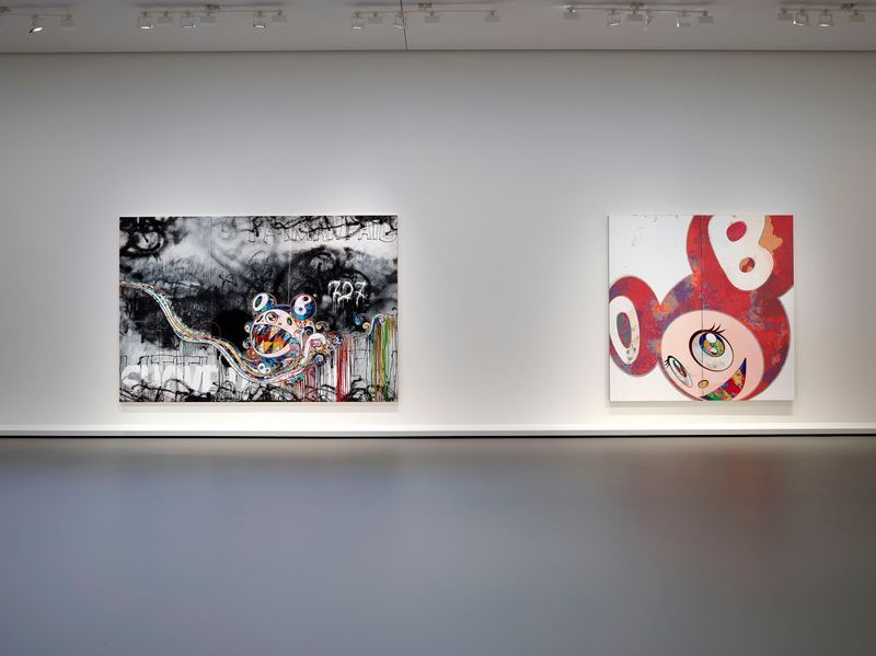 "Takashi_Murakami_""In Tune with the World"" at FONDATION LOUIS VUITTON  Paris (France), 2018_15104"
