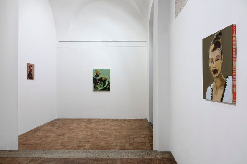 """claire_tabouret_""""One day I broke a mirror """" curated by Chiara Parisi  at Villa medici  Rome (Italy), 2017_15243"""