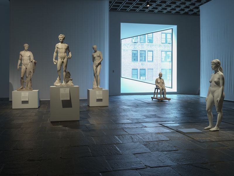 """Bharti_Kher_View of the group exhibition """"Like Life : Sculpture, Color, and the Body"""" at The Metropolitan Museum Of Art  New York (USA), 2018_15333"""