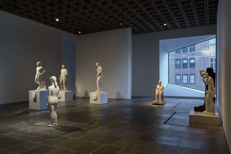"""Bharti_Kher_View of the group exhibition """"Like Life : Sculpture, Color, and the Body"""" at The Metropolitan Museum Of Art  New York (USA), 2018_15335"""