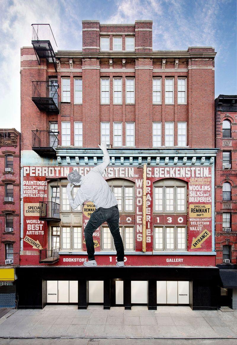 "Jr_View of the exhibition ""HORIZONTAL"" at PERROTIN NY  NEW YORK (USA), 2018_15632"