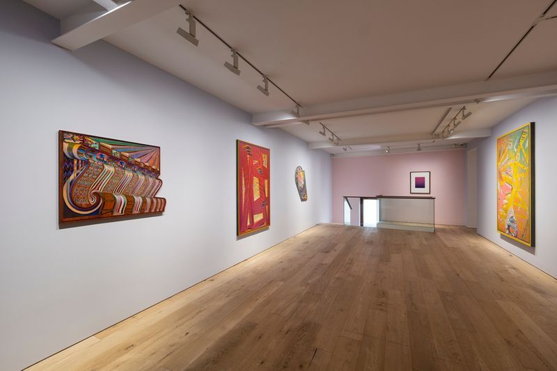 "View of the exhibition ""Sunset Strips to Soul"" at Perrotin, Seoul (South Korea), 2018"