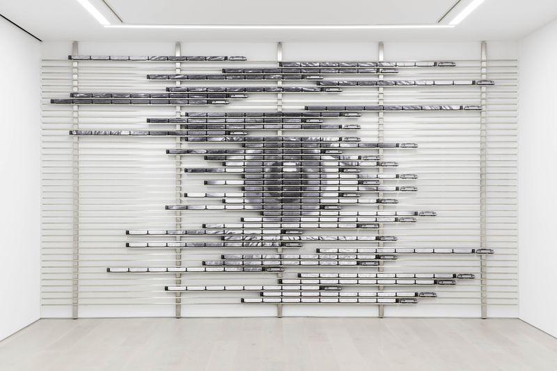 "Jr_View of the exhibition ""HORIZONTAL"" at PERROTIN NY  NEW YORK (USA), 2018_15708"