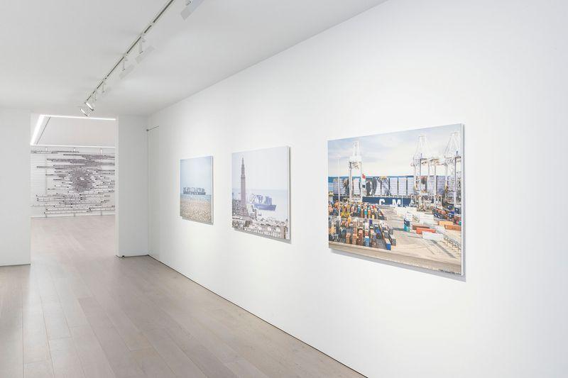 "Jr_View of the exhibition ""HORIZONTAL"" at PERROTIN NY  NEW YORK (USA), 2018_15709"