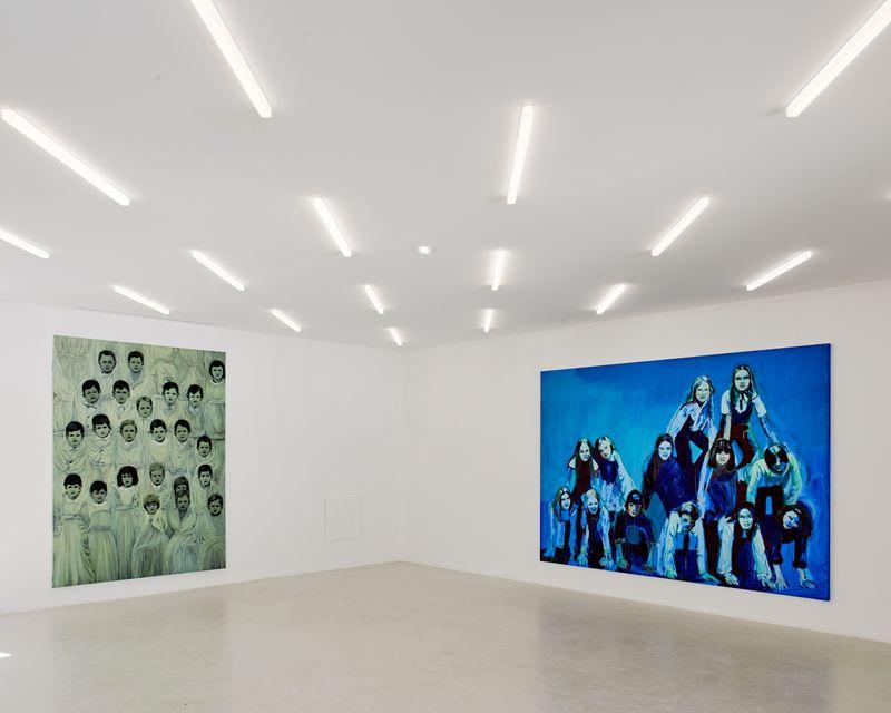"""claire_tabouret_View of the exhibition """"Les Veilleurs """" at Collection Lambert en Avignon  Avignon (France), 2018_15778"""