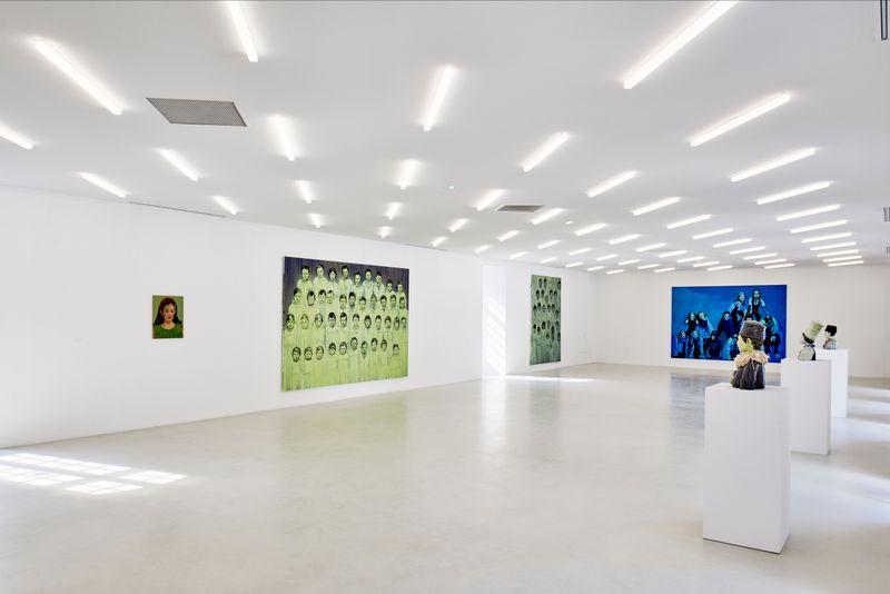 """claire_tabouret_View of the exhibition """"Les Veilleurs """" at Collection Lambert en Avignon  Avignon (France), 2018_15781"""