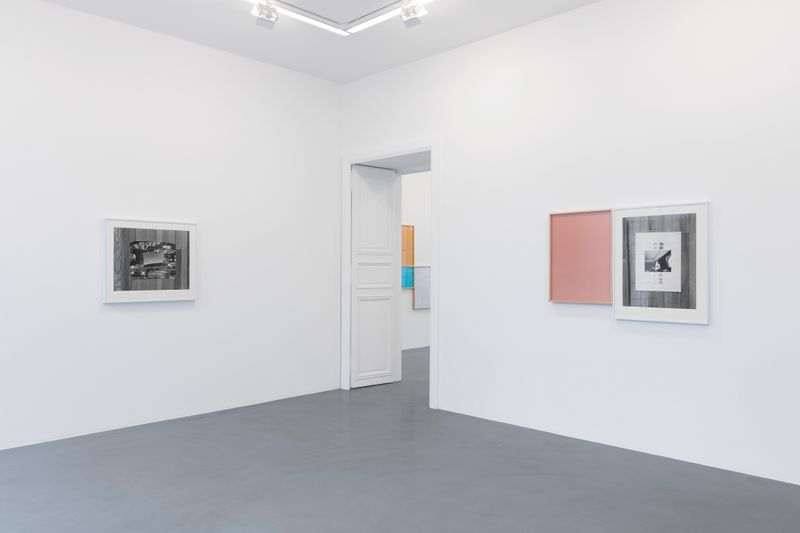Leslie_Hewitt_View of the exhibition  at GALERIE PERROTIN  Paris (France), 2018_15813