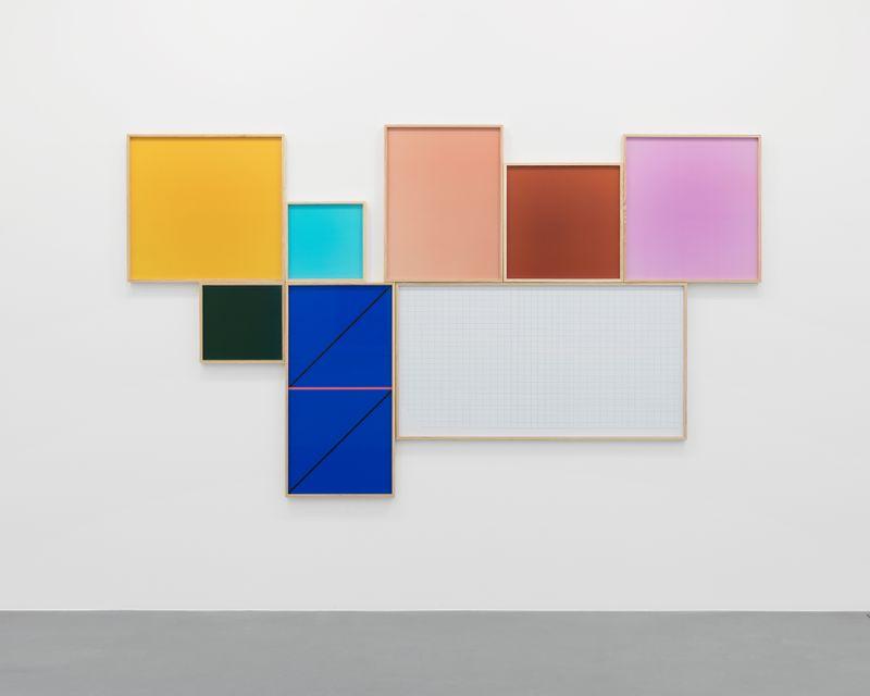 """Subfield (Unified) (Freeing)"" 2018, digital chromogenic prints, 197.5 x 334 x 5.1 cm"
