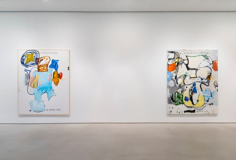 """Installation view of """"Love Letters"""" at Mitchell-Innes & Nash, New York, 2018"""