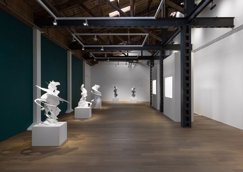 """Wim_Delvoye_View of the exhibition """"Wim Delvoye """" at SHANGHAI GALLERY  SHANGHAI (China), 2018_15947"""