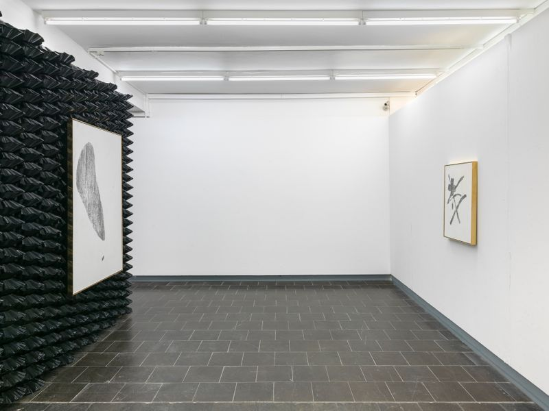 "Gregor_Hildebrandt_View of the exhibition ""Tönend hallt die Jugend"" at KUNSTHALLE RECKLINGHAUSEN Recklinghausen, 2018_16187"
