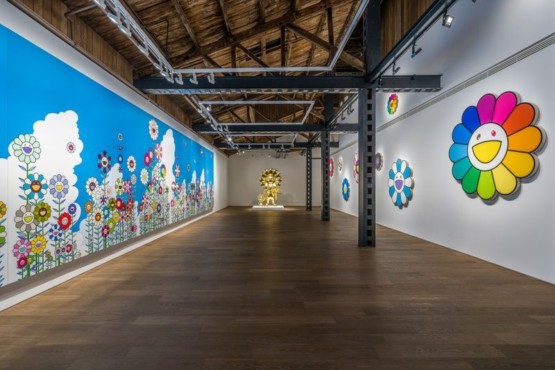 "Takashi_Murakami_View of the exhibition ""Takashi Murakami in Wonderland"" at SHANGHAI GALLERY  SHANGHAI (China), 2018_16297"
