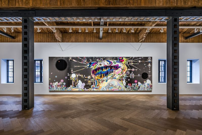 "Takashi_Murakami_View of the exhibition ""Takashi Murakami in Wonderland"" at SHANGHAI GALLERY  SHANGHAI (China), 2018_16298"