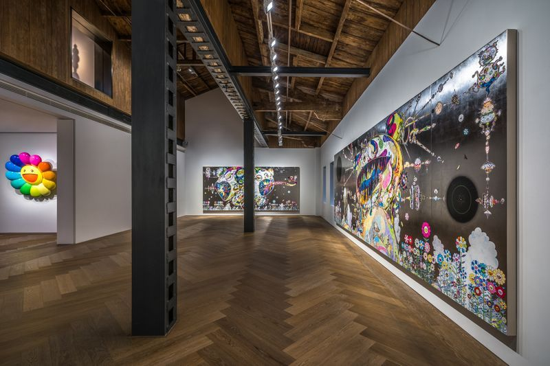 "Takashi_Murakami_View of the exhibition ""Takashi Murakami in Wonderland"" at SHANGHAI GALLERY  SHANGHAI (China), 2018_16299"