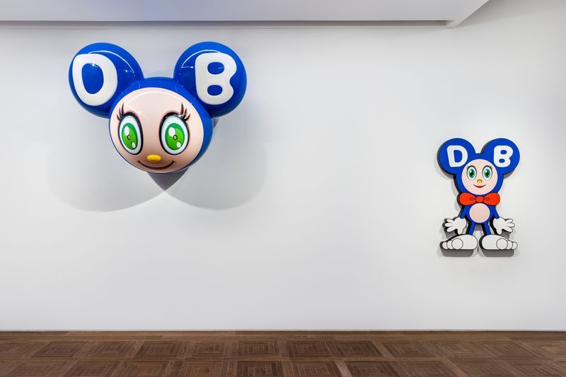 "Takashi_Murakami_View of the exhibition ""Takashi Murakami in Wonderland"" at SHANGHAI GALLERY  SHANGHAI (China), 2018_16303"