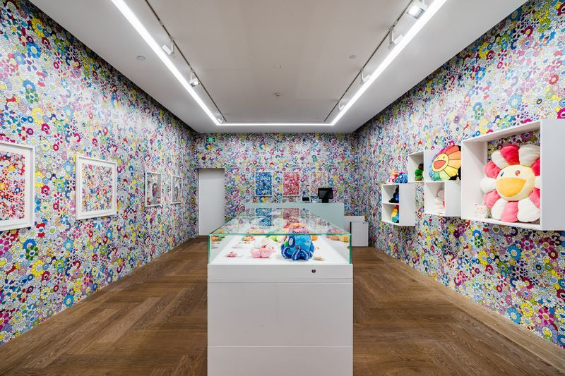"Takashi_Murakami_View of the exhibition ""Takashi Murakami in Wonderland"" at SHANGHAI GALLERY  SHANGHAI (China), 2018_16306"