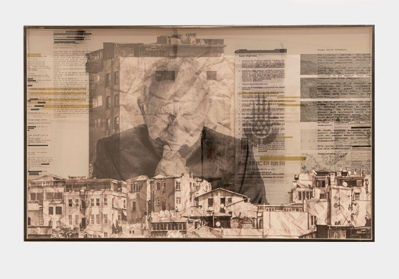 The Wrinkles of the City, Istanbul, Ismet Erkoç, Work In progress, Turkey, 2017Inkjet print, dibond, Duraclear, steel frameFramed : h. 65 × L. 105 cm | h. 25 9/16 × l. 41 5/16 inUnique