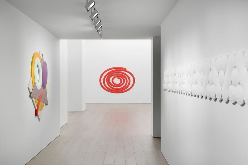"View of exhibition ""Big Time"" at Perrotin New York (USA), 2019"