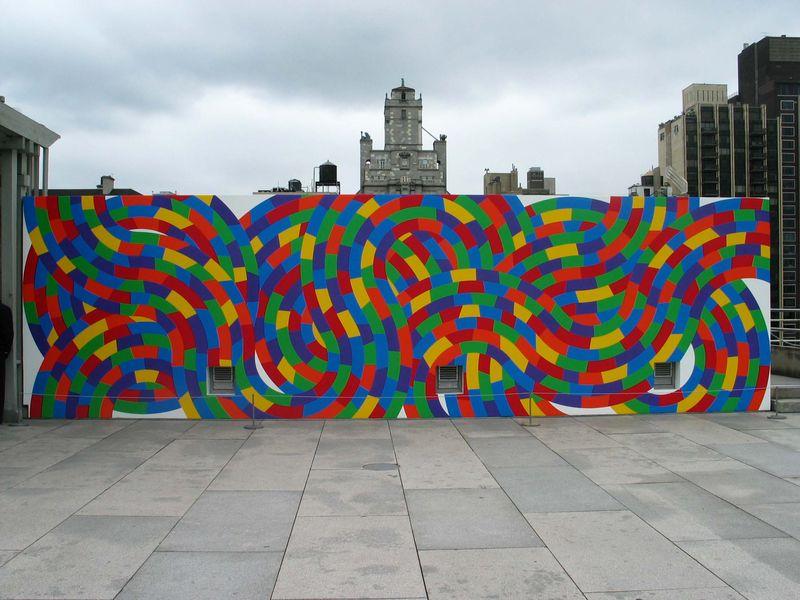 Wall Drawing #1152 at Metropolitan Museum of Art, New York, 2005