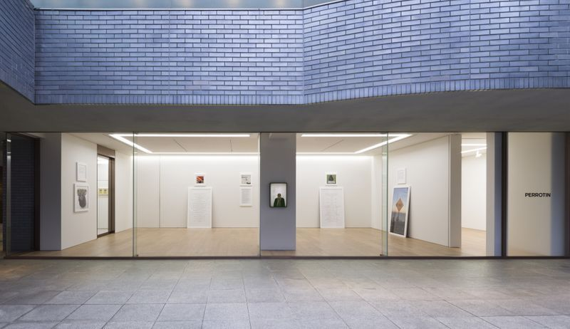 "Sophie_Calle_View of the exhibition ""My mother, my cat, my father, in that order "" at Perrotin Co., Ltd.  Tokyo (Japon), 2019_16830"