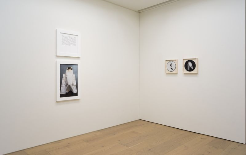 "Sophie_Calle_View of the exhibition ""My mother, my cat, my father, in that order "" at Perrotin, Tokyo (Japon), 2019_16831"