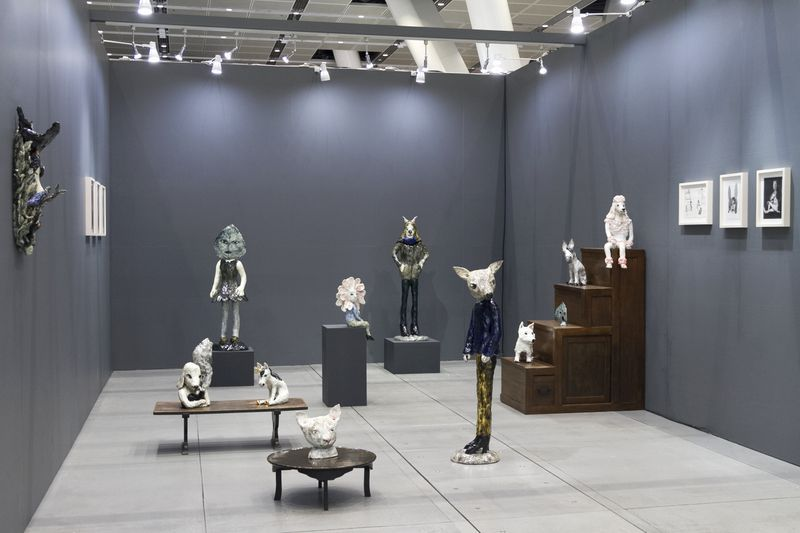 "Klara_Kristalova_View of the exhibition ""Art Fair Tokyo"" at ART FAIR TOKYO  Tokyo (Japan), 2019_17072"