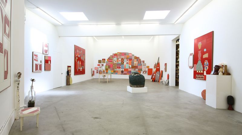 """barry_mcgee_View of the exhibition """"China Boo"""" at Ratio 3  SAN FRANCISCO (USA)_17108"""