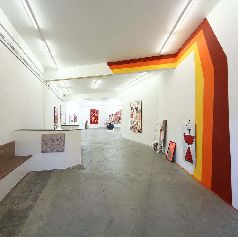 """barry_mcgee_View of the exhibition """"China Boo"""" at Ratio 3  SAN FRANCISCO (USA)_17109"""