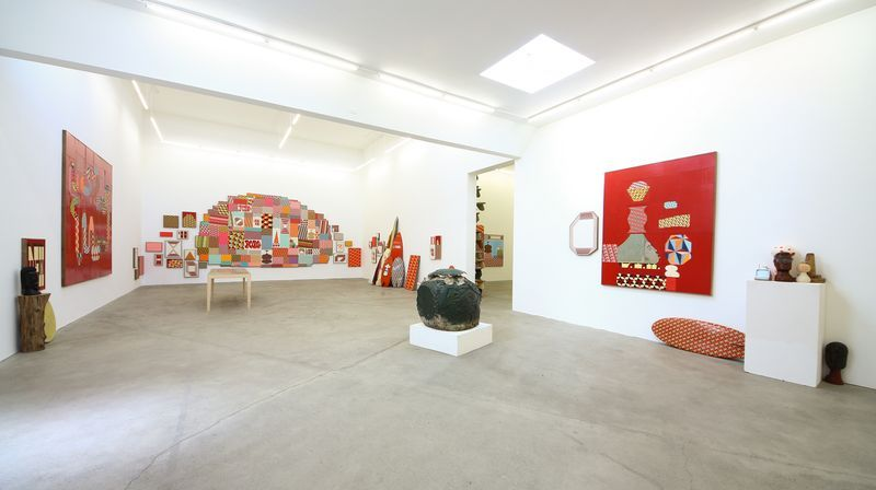 """barry_mcgee_View of the exhibition """"China Boo"""" at Ratio 3  SAN FRANCISCO (USA)_17111"""