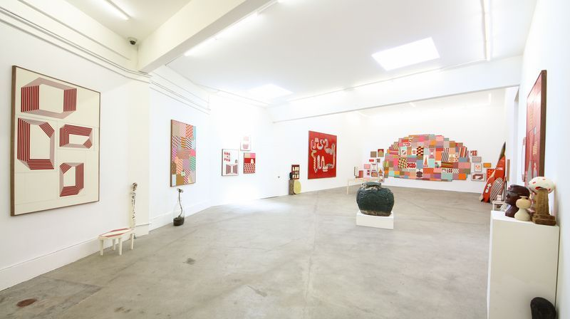 """barry_mcgee_View of the exhibition """"China Boo"""" at Ratio 3  SAN FRANCISCO (USA)_17113"""